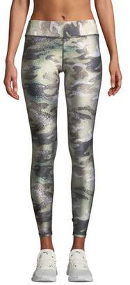 Terez Tall Band Camo-Print Performance Leggings