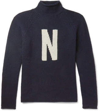 Norse Projects Thore N Intarsia Wool Sweater