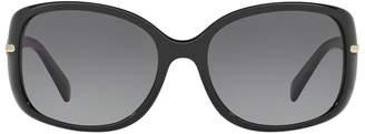 Prada Linea Rossa Rectangle Polarised Sunglasses