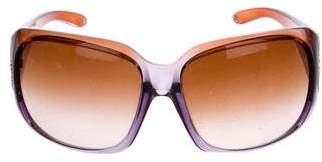 Versace Crystal Medusa Sunglasses
