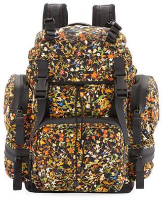 DSQUARED2 Men's Akira Floral-Print Backpack