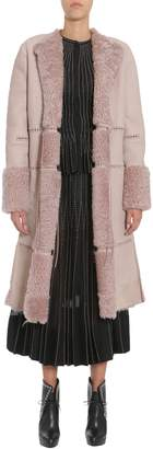 Alexander McQueen Long Shearling Coat