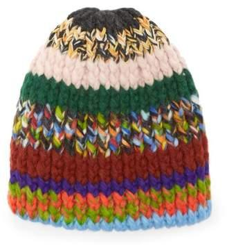 Missoni Chunky Knit Hat - Womens - Multi