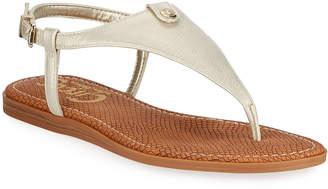 294a24b04 Sam Edelman Faux Leather Women s Sandals - ShopStyle