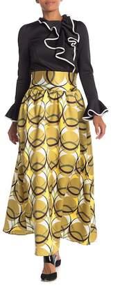 CQ by CQ Printed High Waist Maxi Skirt