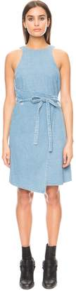 THE FIFTH FIRST LIGHT DRESS washed denim