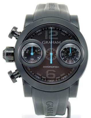 Sword Fish Graham Swordfish Booster 2SWBB.U36L.K58N Black PVD Stainless Steel 48mm Mens Watch