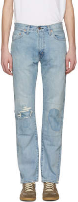 Levi's Clothing Blue 505 1967Jeans