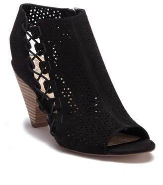 Vince Camuto Elison Leather Open Toe Boot