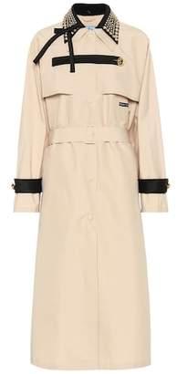 Prada Embellished trench coat