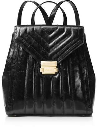 MICHAEL Michael Kors Whitney Medium Leather Backpack