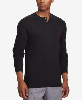 Polo Ralph Lauren Men's Waffle-Knit Henley Shirt