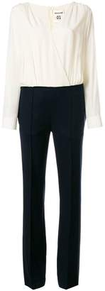 Semi-Couture Semicouture top and trousers style jumpsuit
