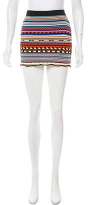 Emilio Pucci Knit Mini Skirt
