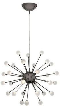 Hinkley Lighting Impulse 30-Light LED Sputnik Chandelier Hinkley Lighting