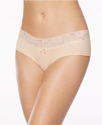 Jenni by Jennifer Moore Cotton Wide Lace Hipster, Created for Macy's