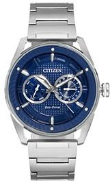 Drive From Citizen Eco-Drive Men's CTO Stainless Steel Watch
