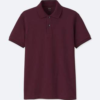 Uniqlo Men's Dry Pique Short-sleeve Polo Shirt