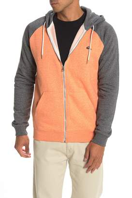 Quiksilver Everyday Zip Front Fleece Hoodie