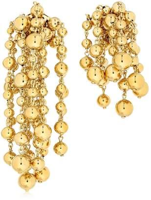 Jacquemus Les Perles Yasmin Metallic Earrings