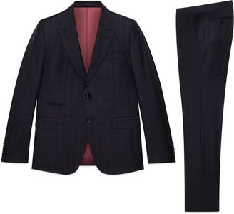 New Marseille checked wool suit $3,450 thestylecure.com