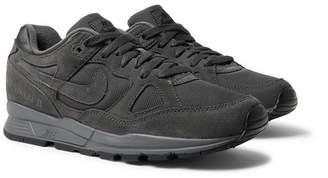 Nike Span Ii Premium Suede-Trimmed Mesh Sneakers