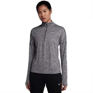 Nike Women's Dry Element Half Zip Long Sleeve Running Shirt (, XL)