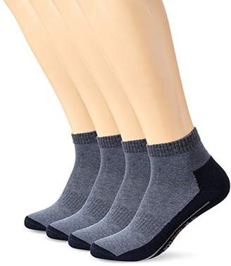 Camano 9201 Ankle Socks,Pack of 4
