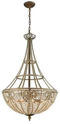 ELK Elizabethan 8 Light Led Pendant