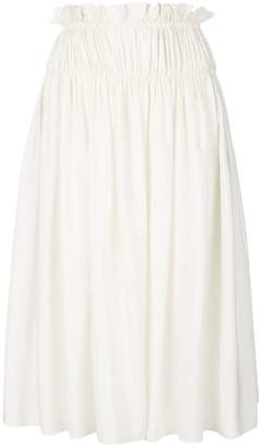 Jil Sander elasticated waist skirt