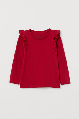 H&M Frill-trimm