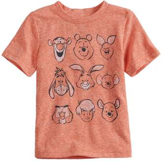 Disney's Winnie the Pooh Toddler Boy Heathered Graphic Tee by Jumping Beans