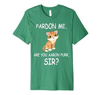 Hamilton Purr: Funny Patriotic T-Shirt for 4th Of July