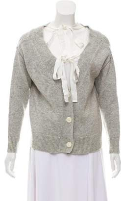 Cinq à Sept Wool Knit Cardigan
