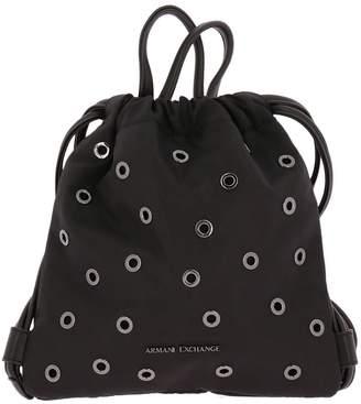 Armani Collezioni Backpack Shoulder Bag Women Armani Exchange