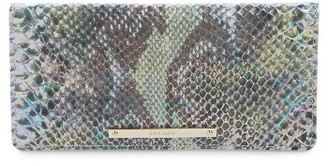 Women's Brahmin Ady Leather Continental Wallet - Blue/green $135 thestylecure.com