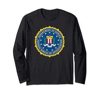 Federal Bureau of Investigation FBI LOGO Long Sleeve T-Shirt