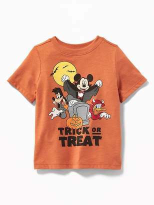"Old Navy Disney© Mickey & Friends ""Trick or Treat"" Tee for Toddler Boys"