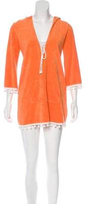 Juicy Couture Terry Cloth Hooded Cover-Up