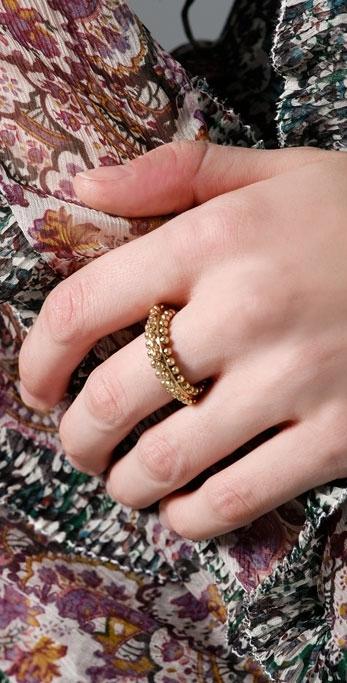 Rachel Leigh Sweet Tooth Beaded Ring