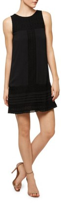 Women's Sanctuary Phoebe Lace Detail Shift Dress $139 thestylecure.com