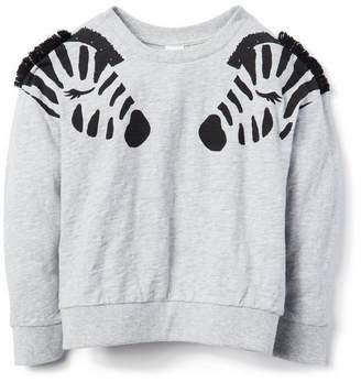 Gymboree Zebra Sweatshirt