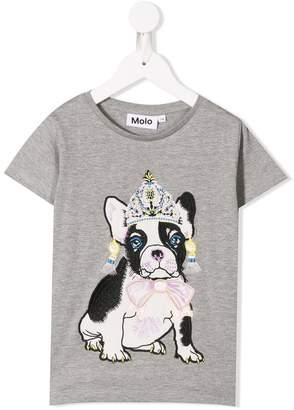 Molo dressy bulldog T-shirt