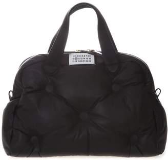 Maison Margiela Black Glam Slam 5ac Bag In Leather