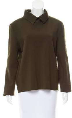 Celine Long Sleeve Mock Neck Top w/ Tags