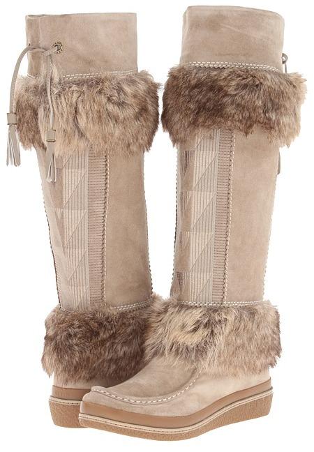 AERIN Edlingham (Stone Suede) - Footwear