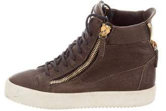 Giuseppe Zanotti Jewel-Embellished May London Sneakers