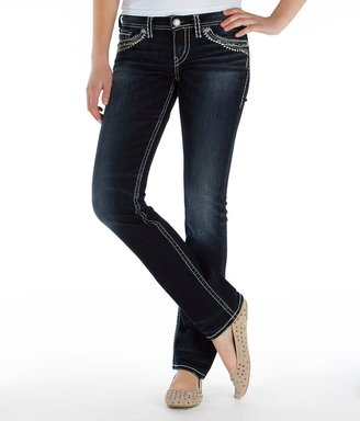 Silver Berkley Straight Stretch Jean $98 thestylecure.com