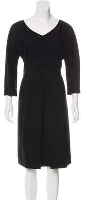 Marc by Marc Jacobs Wool Midi Dress