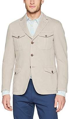 Bugatchi Men's Unconstructed Safari Jacket
